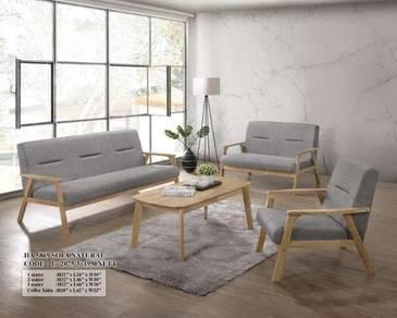 2+3+1 seater wooden sofa (M-HA-5869)24/06