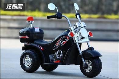 Motor Elektrik Kanak-Kanak Design Police Harley