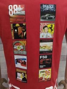 Authentic Puma Ferrarit-shirt, S~M (RoadRun)