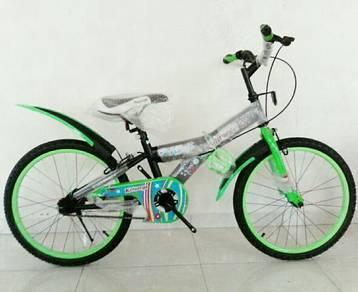 3 Biji basikal abang kakak adik