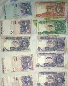 Duit Lama Malaysia ( Old Money Malaysian )
