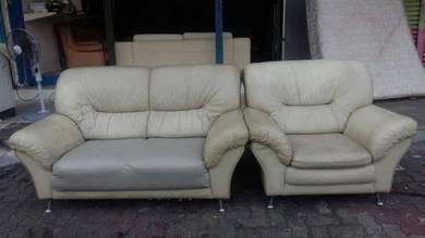 Sofa pure leather 2seater