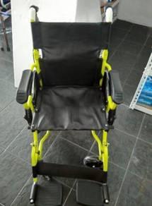 Lightweight wheelchair (yellow)