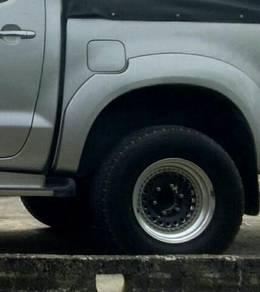 Tayar rim japan 2piece hilux 4x4 ranger triton