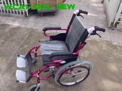 Kerusi roda ringan cun pink