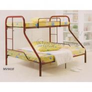 Twin Over Full Bunk Metal Bed Frame (MV903F)