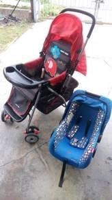 Storller Dan Seat kereta Carrier Baby