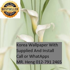 PVC Vinyl Wall paper with Expert Install 4rdw2