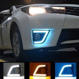 Toyota Altis 2014 OEM Daylight Foglamp with Signal