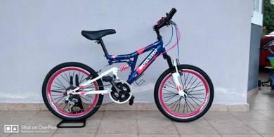 Kid Bicycle Dengan Gear dan Shock Absorber