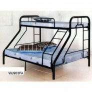 Twin Over Full Bunk Metal Bed Frame (WJ903)