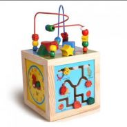 MB Flower and bird design for wooden toys