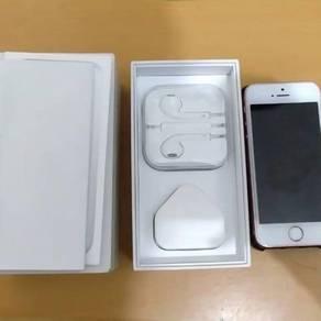 Iphone se 16gb rosegold fullset .condition 9/10
