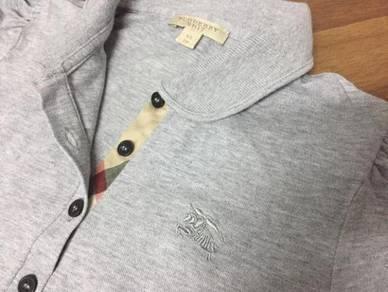 Authentic Burberry grey shirt turkey