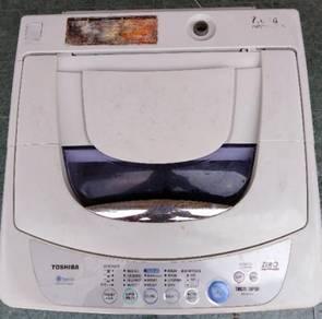 Toshiba washing macin 7kg auto