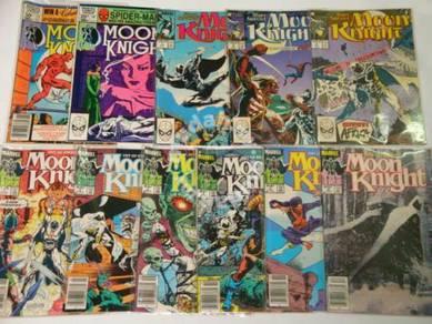 MOON KNIGHT comics. 1-set