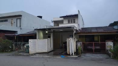 FOR SALE:Renovated Double Storey Terrace berhadapan Surau Au5D Keramat