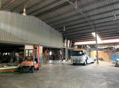 Raja Uda, Mak Mandin, Bagan Lallang Warehouse Factory For Rent