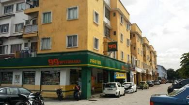 Kelana idaman shop apartment-kelana jaya, petaling jaya- 897sf