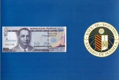 Philippines Commemorative Banknote 2 in 1 uncut