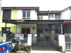 For Sale Double Storey Cluster House Taman Sembilang Seberang Jaya