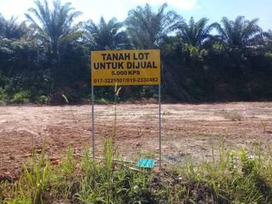 TANAH LOT TEPI JALAN UTAMA KUALA KETIL - PARIT PANJANG (5,000kps)