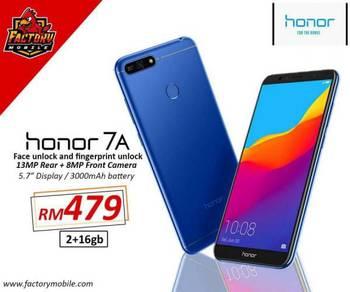 Honor 7A [2+16gb] original malaysia set