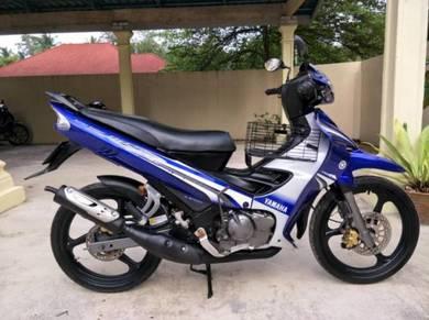 Yamaha 125zr 125z BiruGP Cantik murah2