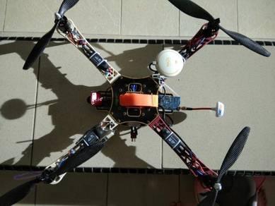 DJi Naza drone quadcopter