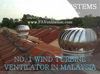 UHYG10 Wind Turbine Ventilator + FREE Air Vent