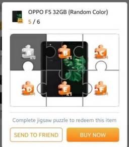 Oppo F5 32GB Shoplex Puzzles