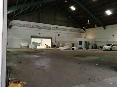 Permas Jaya, Fully Renovated Extend Factory, 1.5sty Semi detached, J