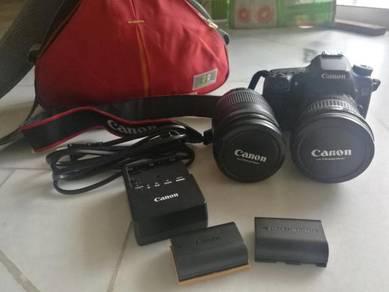 Canon EOS 70D DSLR set