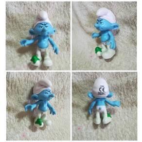 Authentic Peyo Jakks Grouchy Smurf Figurine