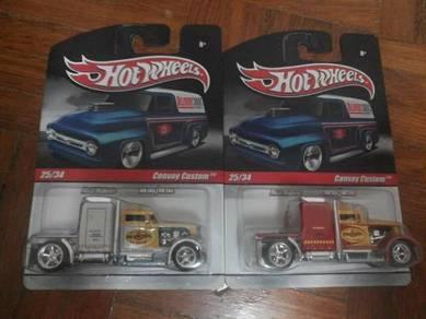Hotwheels convoy custom