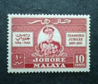 Malaya 1955 Johore Diamond Jubilee - 1v MNH