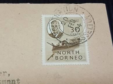 Cover North BORNEO 1954 X579