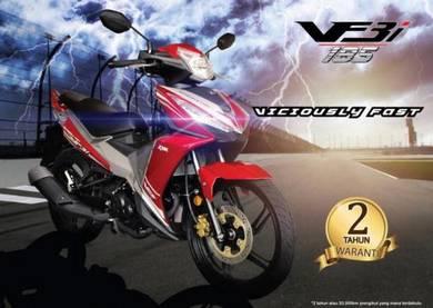 Promosi Merdeka SYM 185/ Sym VF3i (Low Dep)