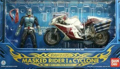 Sic vol 46 masked rider 1 & cyclone