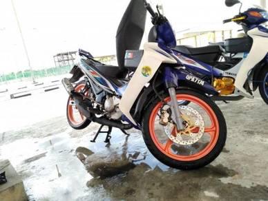 2017 Yamaha 125zr standard