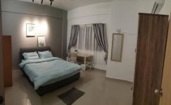 Fully Furnished Master room at Prima Setapak + Car Park Rent