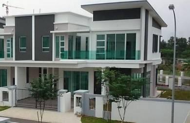 [Kajang Saujana] Corner 25x80 Extra 20ft land 2 Stry House Freehold