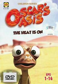 Oscar's Asis The Heat Is Onn Chinese Animation DVD