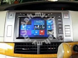 Oto navi Toyota Estima 8-Inch GPS mirror link
