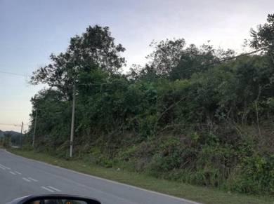 Tanah rata tepi jalan utama Kuala pilah n9