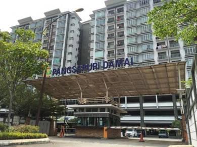 [NEW PAINT/CORNER UNIT] low level PANGSAPURI DAMAI Seksyen25 Shah Alam