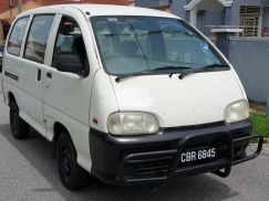 Perodua rusa window van 2005
