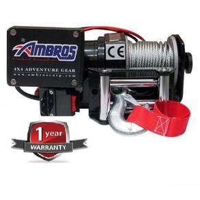 Ambros ATV Winch 2000lbs (12V) with Control Box
