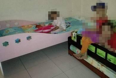 Girl Single Bed / Katil Bujang Budak Perempuan