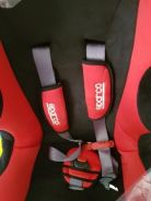 Sparco - F500K Baby Car Seat *Red*